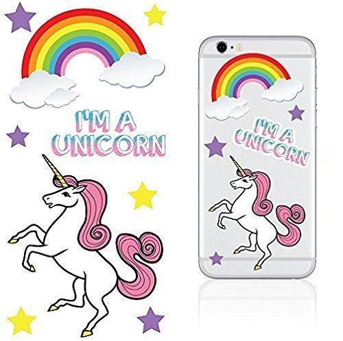 IDecoz I'm a Unicorn Stickertag