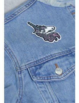 IDecoz Unicorn Sequin Sticker Patch