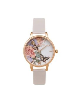 Olivia Burton Enchanted Garden Blush Watch