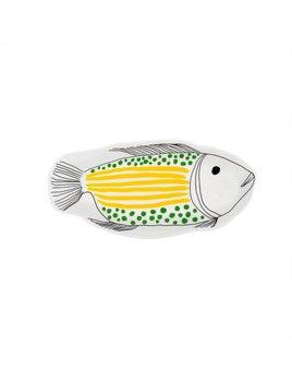 Indaba Yellow Tropical Fish Dish