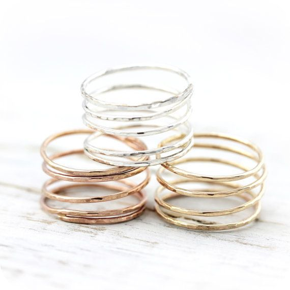 Le Cubicule Gold Spiral Ring