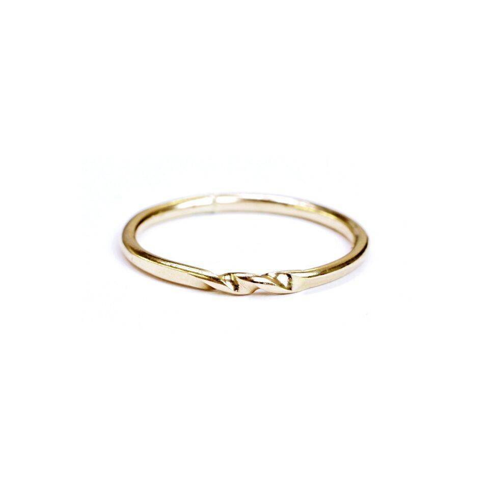 Hart and Stone Wave Ring