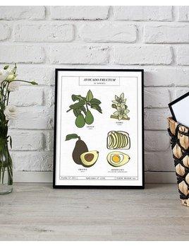 Fleur Maison Big Print Avocado