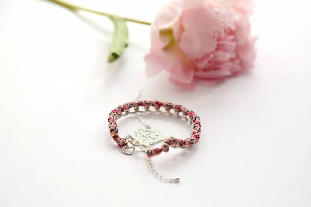 Si Simple Bracelet Jade Fleurs