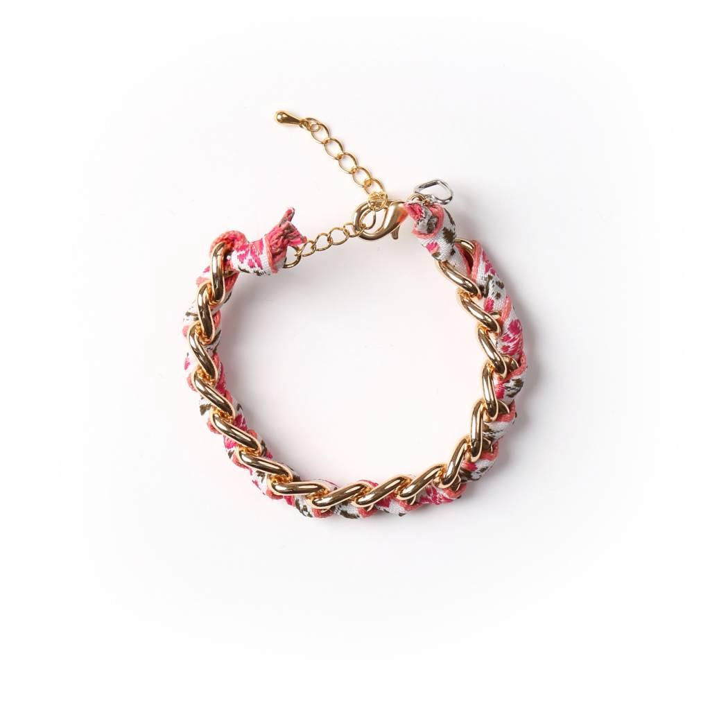 Si Simple Bracelet Rosie Or
