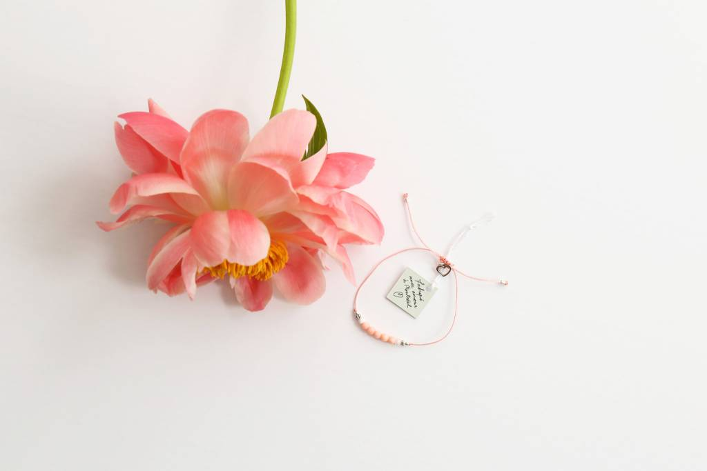 Si Simple Bracelet Pearl Melon