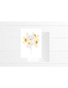 Fla Fla Carte Fleur Diamants