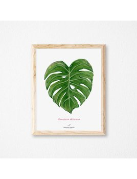 Joannie Houle Affiche 11x14 Monstera