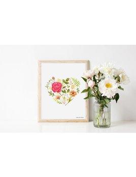 Joannie Houle Affiche 8x10 Amour Fleuri