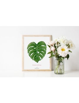 Joannie Houle Affiche 8x10 Monstera