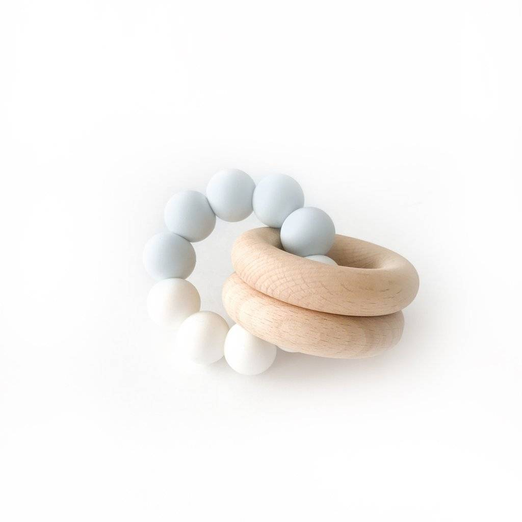 Otherware Coast and White Duo Teether
