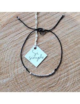 Si Simple Bracelet Silver