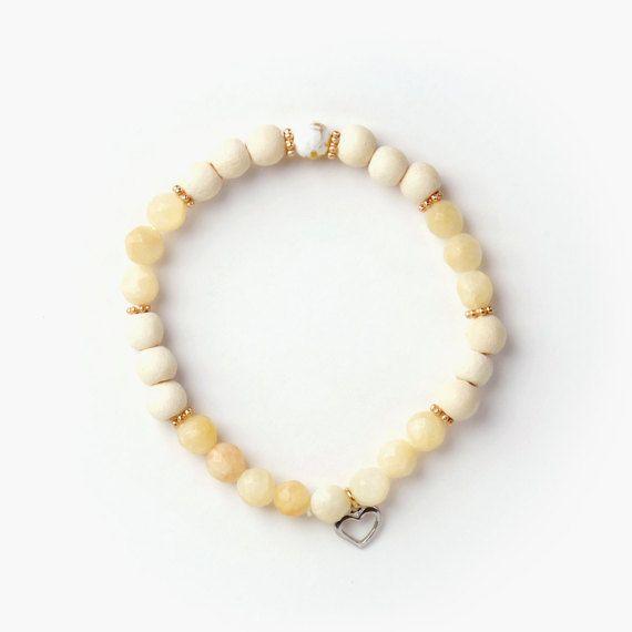 Si Simple Bracelet Island Jaune