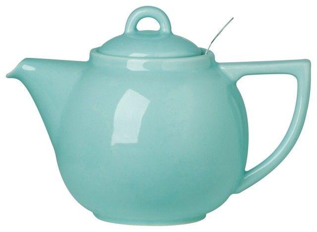 Danica/Now Théière Turquoise- 2 tasses