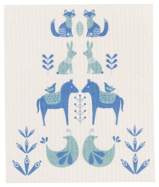 Danica/Now Meadowland Swedish Dishcloth