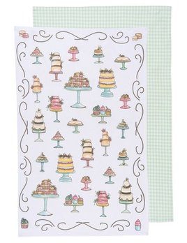 Danica/Now Just Desserts Dishtowels  Set of 2