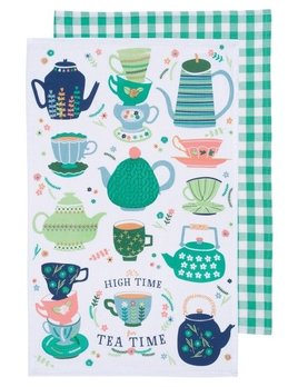 Danica/Now Perfect Cuppa Dishtowels  Set of 2