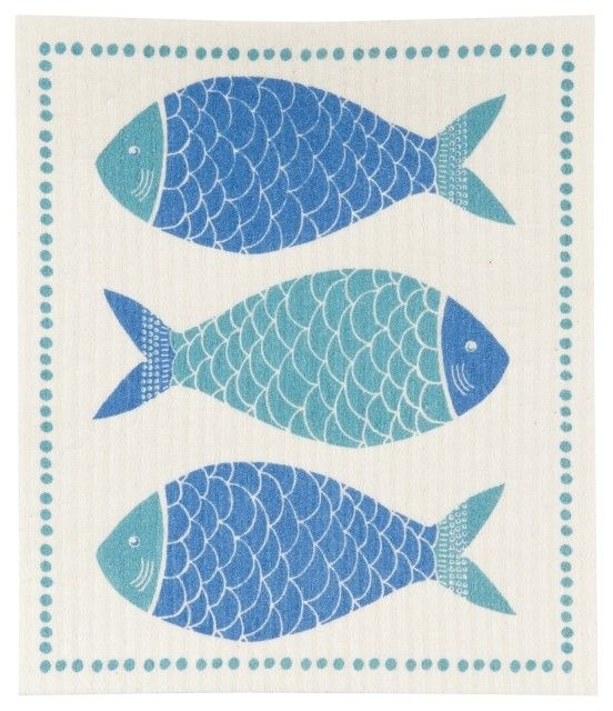 Danica/Now Fish Market Swedish Dishcloth