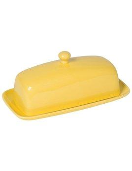 Lemon Rectangular Butter Dish