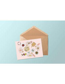 Fleur Maison Brunch Greeting Card
