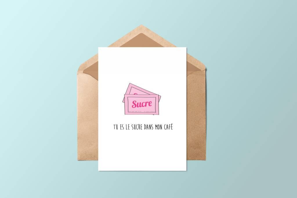 Fleur Maison Sugar Greeting Card