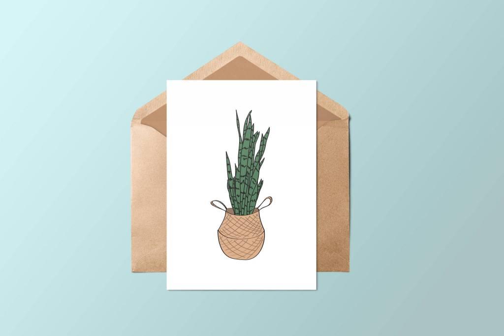 Fleur Maison Plant Greeting Card