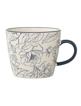 Design Home Blue Flower Mug