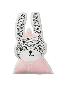 Design Home Pink Rabbit Pillow