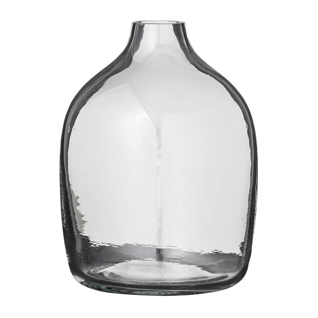 Bloomingville Round Glass Vase