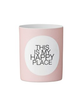 Bloomingville This is my happy place Vase