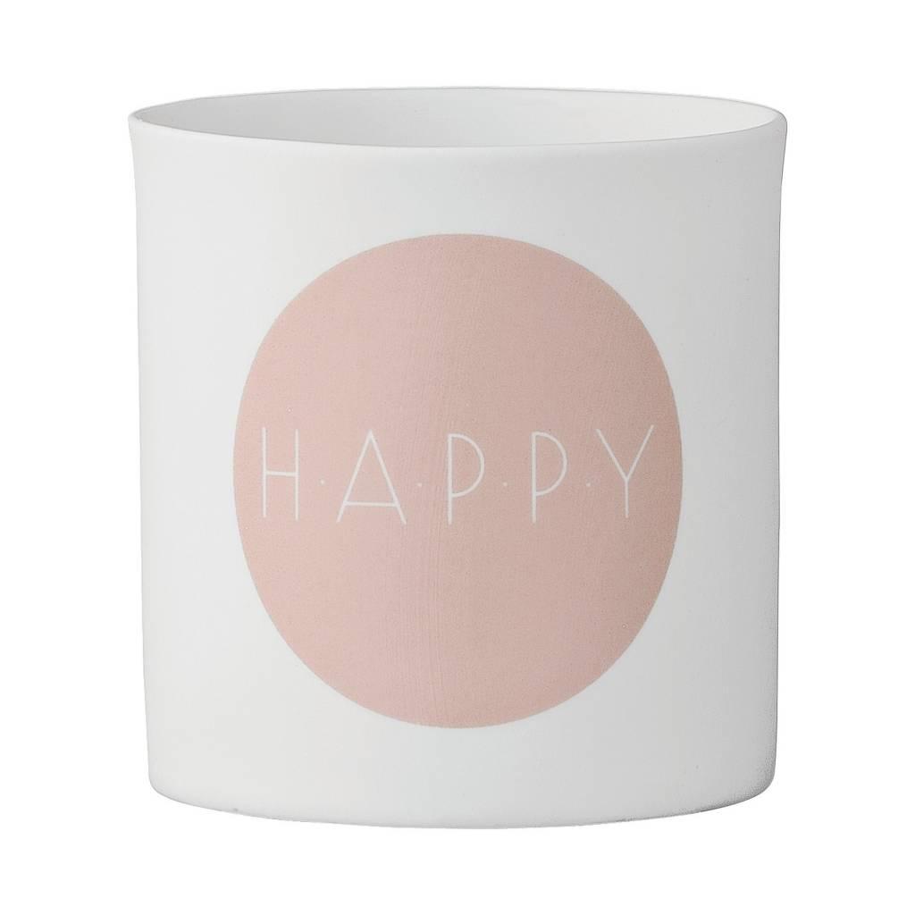 Bloomingville Vase Happy