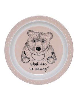 Design Home Pink Bear Plate