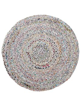 Bloomingville Round Braided Rug