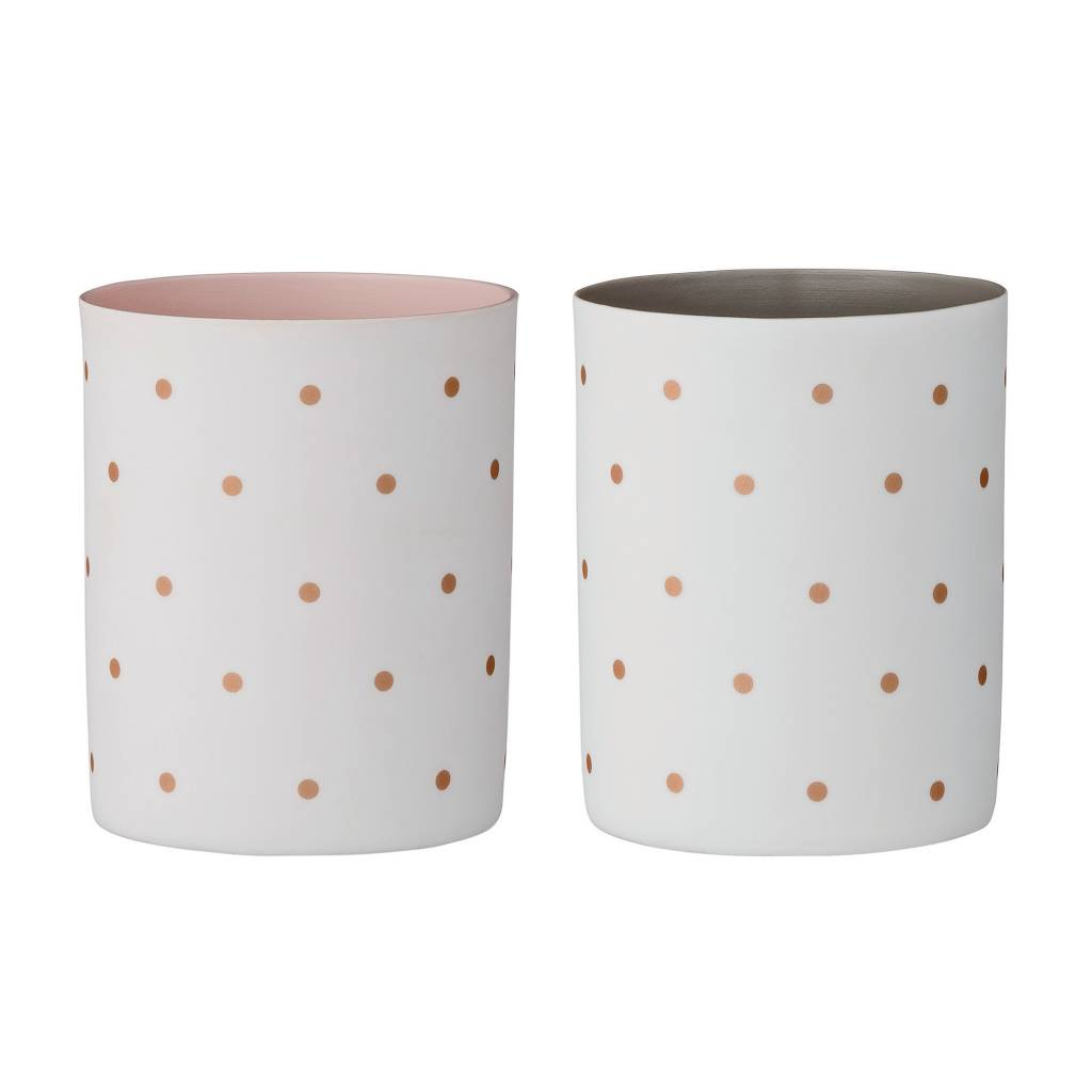 Bloomingville Gold Dots Small Vase
