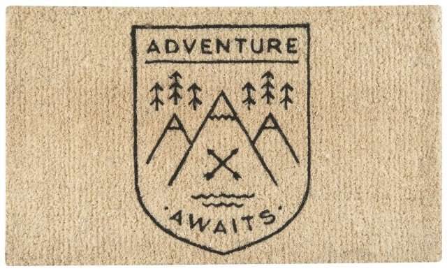 Danica/Now Adventure Awaits Doormat