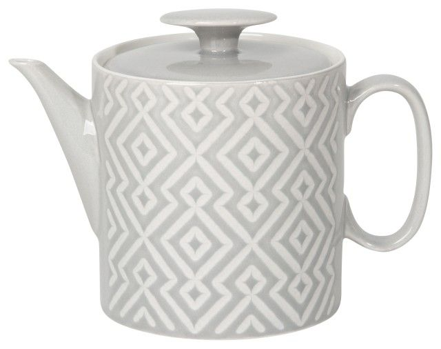 Danica/Now Grey Tile Teapot