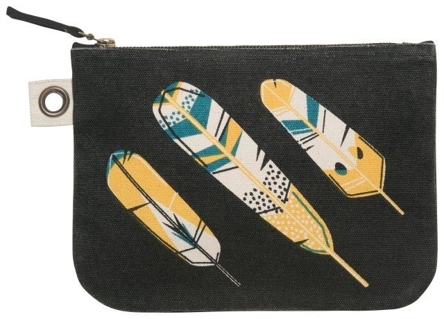 Danica/Now Chirp Large Zipper Pouch