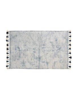 Indaba Stone Crackle Tasseled Rug