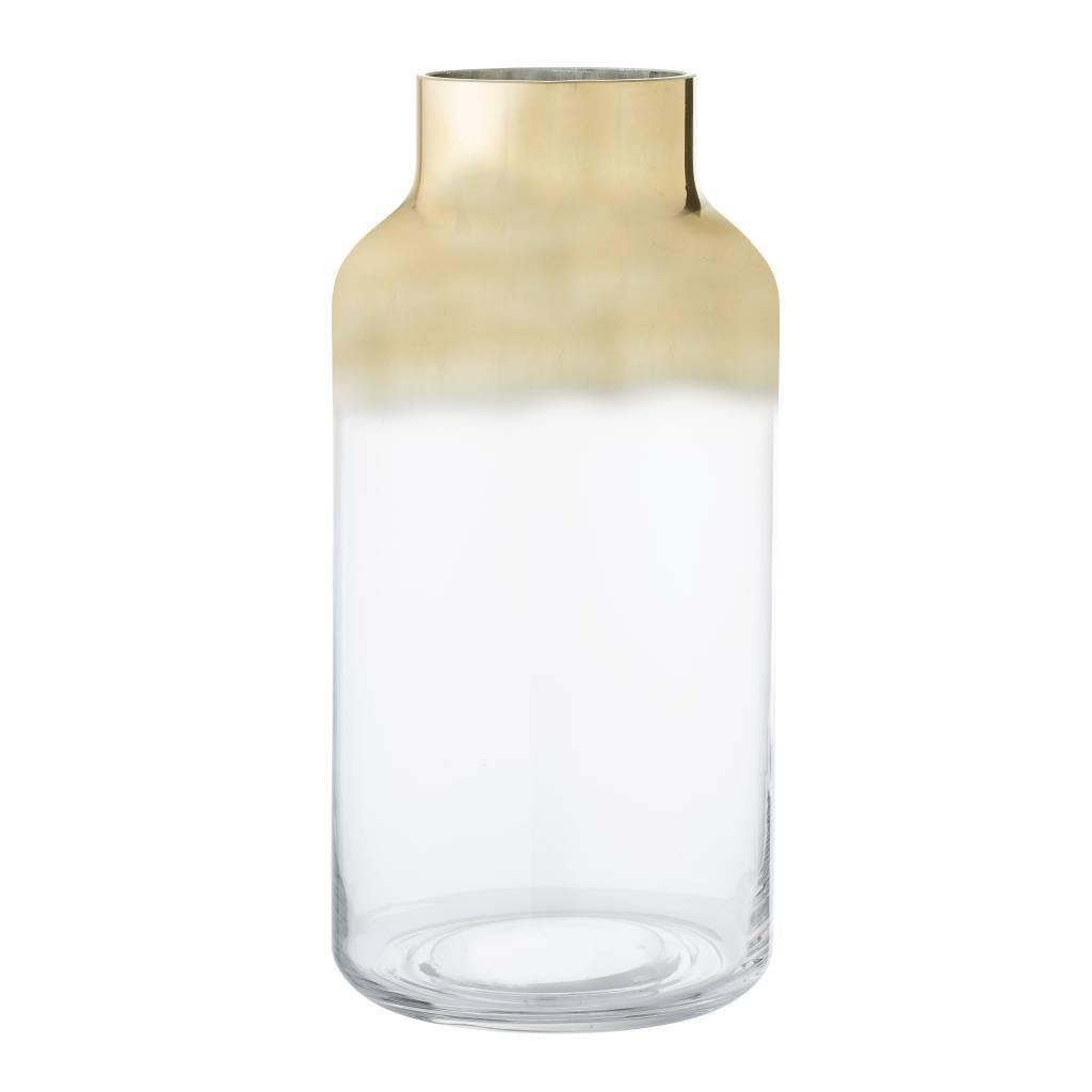 Bloomingville Grand Vase Verre Doré
