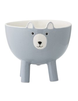 Bloomingville Bear Bowl Blue