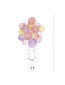 Design Home Balloons Poster