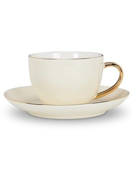 Abbott Evelyn Ivory Cup & Saucer