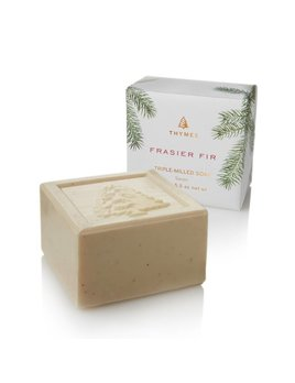 Thymes Fraisier Fir Bar Soap
