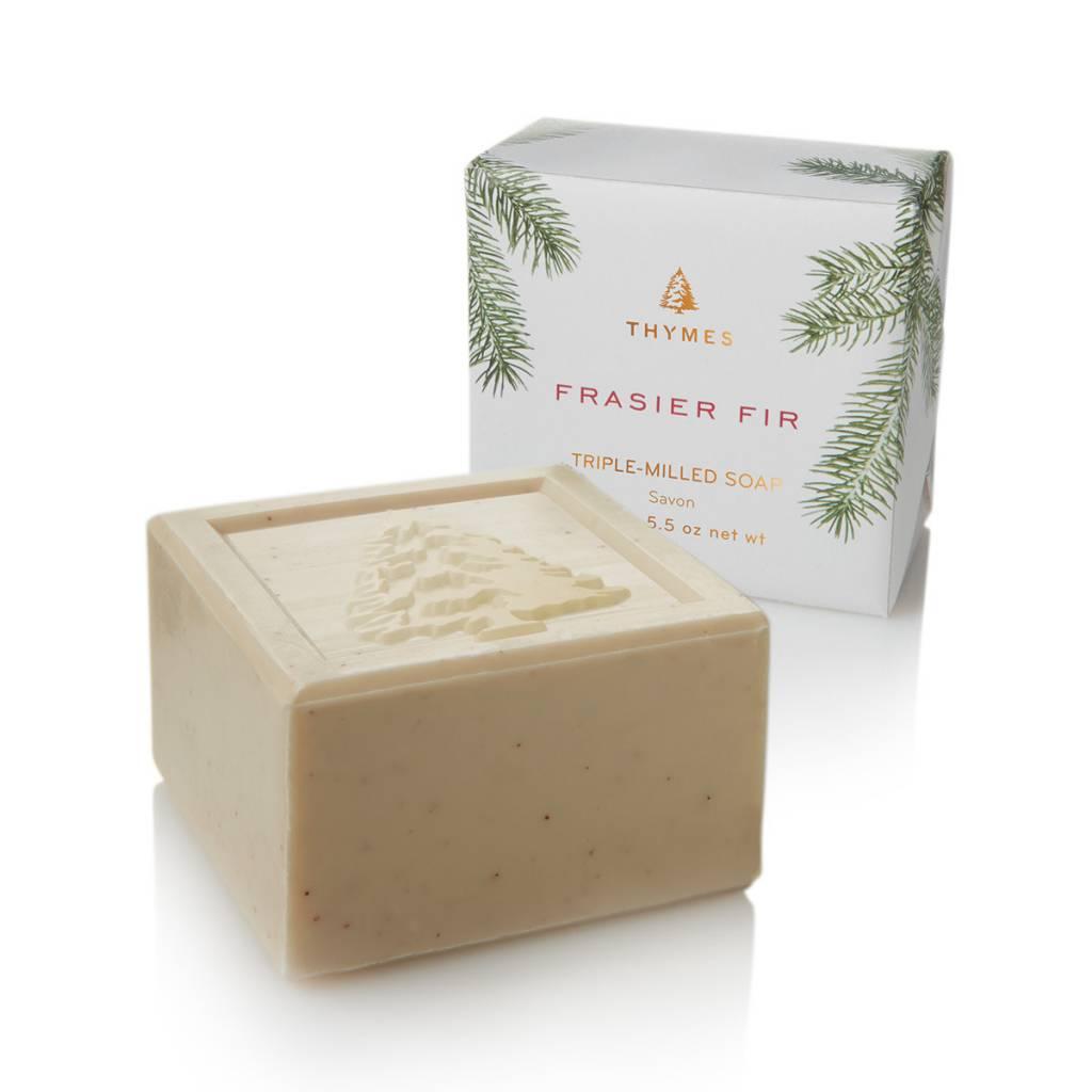 Thymes Fraisier Fir Bar Soap