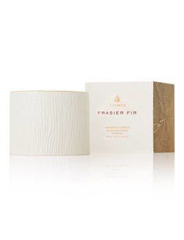 Thymes Small Frasier Fir  Ceramic Candle