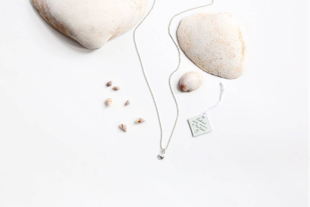 Si Simple Shell Pendant Necklace