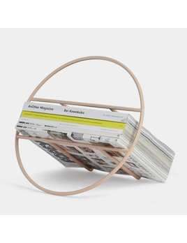 Umbra Hoop Magazine Rack Rose