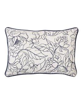 Bloomingville Fleur Bleue Cushion