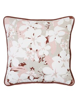 Bloomingville Pink Floral Pillow