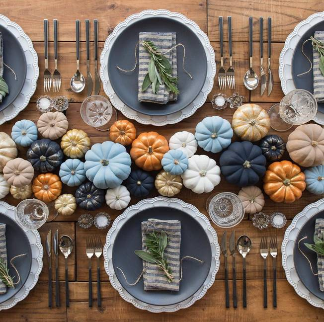 Mettre la table pour l'automne